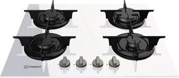 Встраиваемая газовая варочная панель Indesit PR 642 /I(WH) встраиваемая газовая варочная панель indesit pr 642 i bk black