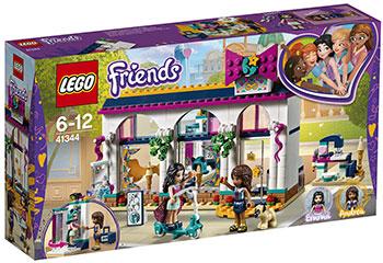 цены Конструктор Lego Магазин аксессуаров Андреа 41344