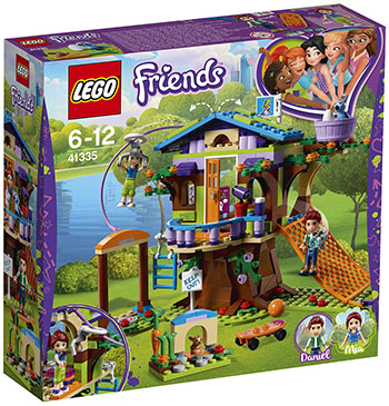 Конструктор Lego Домик Мии на дереве LEGO Friends 41335 lego friends ластик 4 шт 51608