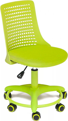 Кресло Tetchair Kiddy ткань (сетка) пластик салатовый