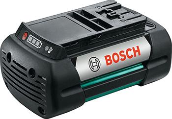 цена на Аккумулятор Bosch литий-ионный к газонокосилкам 36В 4Ач F 016800346