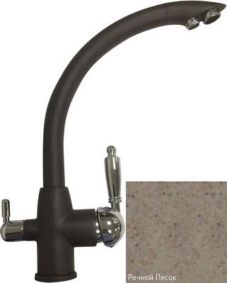 Кухонный смеситель Zigmund & Shtain 1500 речной песок кухонный смеситель zigmund amp shtain 1200 l речной песок