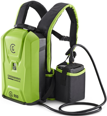 Фото - Профессиональный ранцевый аккумулятор Greenworks 82 V 2914807 аккумулятор