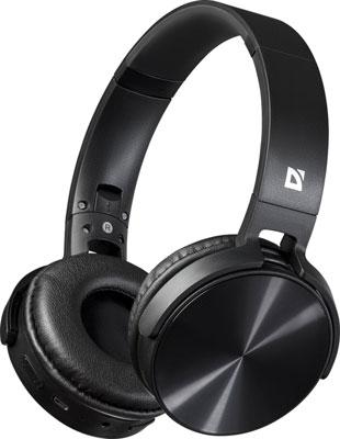 Фото - Накладные наушники Defender FreeMotion B555 черный Bluetooth (63555) наушники defender freemotion b555 63555 black