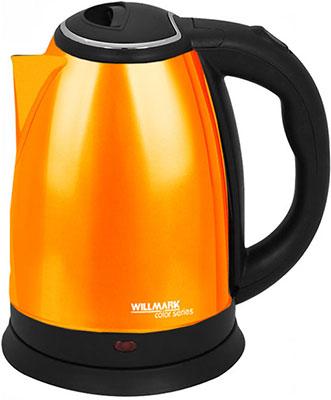 Фото - Чайник электрический WILLMARK WEK-1808SS (оранжевый) чайник электрический willmark wek 1808ss белый