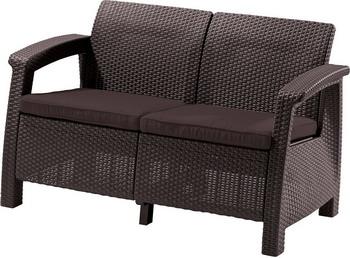 Диван Keter Corfu Love Seat 17197359 цена 2017