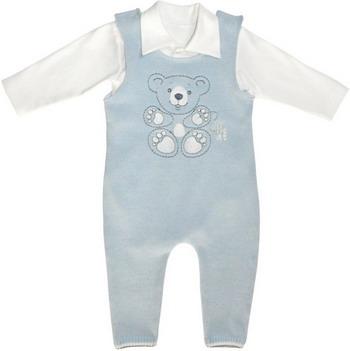 Комплект одежды Лео Мишка рост 68 голубой комплект 3 предмета лео для мальчика цвет серый