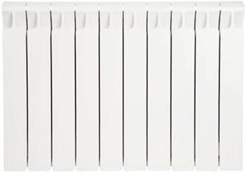 Водяной радиатор отопления RIFAR Monolit 500 х 10 сек биметаллический радиатор rifar monolit 500 5 сек