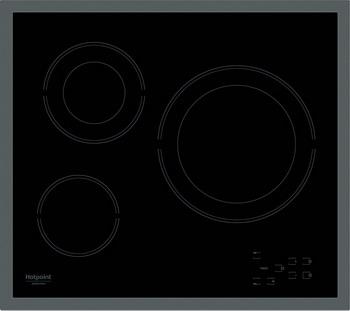 Встраиваемая электрическая варочная панель Hotpoint-Ariston HR 603 X варочная панель hotpoint ariston hr 603 x