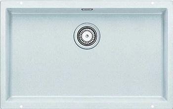 Фото - Кухонная мойка Blanco 523446 Мойка BLANCO SUBLINE 700-U SILGRANIT белый с отв.арм. InFino кухонная мойка blanco subline 400 u silgranit антрацит с отв арм infino 523422