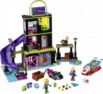 Конструктор Lego SUPER HERO GIRLS Фабрика Криптомитов Лены Лютор 41238