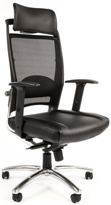 chairman 769 черный хром Офисное кресло Chairman Chairman Эрго 281 хром