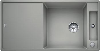 Кухонная мойка Blanco AXIA III XL 6 S InFino Silgranit жемчужный (доска стекло) 523513 кухонная мойка blanco axia iii xl 6 s f infino silgranit алюметаллик доска стекло 523528