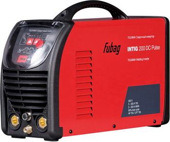 Сварочный аппарат FUBAG INTIG 200 DC PULSE 68439. сварочный инвертор fubag intig 180 dc pulse 38025 2