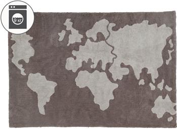 Ковер Lorena Canals Карта мира 140*200 C-MAP цена