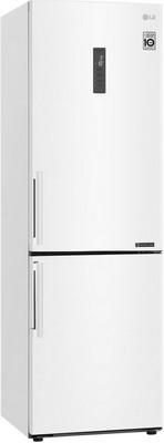 цена Двухкамерный холодильник LG GA-B 459 BQGL белый