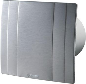 Вытяжной вентилятор BLAUBERG Quatro Hi-Tech 125 H серебристый