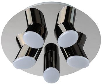 Люстра потолочная DeMarkt Фленсбург 609013605 100*0 2W LED 220 V люстра потолочная demarkt фленсбург 609013809 180 0 2w led 220 v