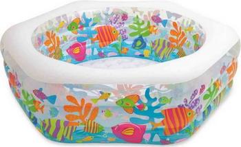 Фото - Бассейн Intex Аквариум 56493 аквариум prime детский белый полный комплект с оборудованием и декорациями15л
