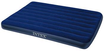 Надувной матрас Intex Classic Downy Airbed Fiber-Tech 137х191х25 64758 цены