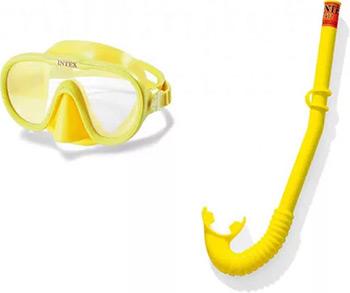 Комплект для плавания Intex ADVENTURER SWIM SET от 8 лет 55642 круг для плавания swim ring 51см от 3лет