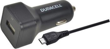 Автомобильное зарядное устройство+универсальный DATA кабель Duracell DR 5032 A-RU автомобильное зарядное устройство универсальный data кабель duracell dr 5031 w ru