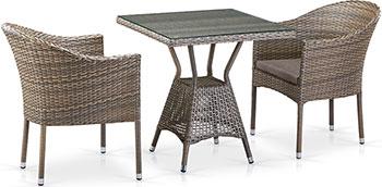 Комплект мебели Афина T 706 G/Y 350 G-W 1289 2Pcs Pale
