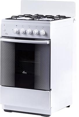Комбинированная плита Flama AK 1416 W белый газовая плита flama ak 1416 w