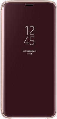 купить Чехол (флип-кейс) Samsung S9 (G 960) Clear View Standing gold EF-ZG 960 CFEGRU по цене 4990 рублей