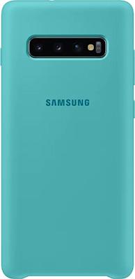Чехол (клип-кейс) Samsung S 10+ (G 975) SiliconeCover green EF-PG 975 TGEGRU