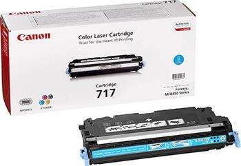 Картридж Canon 717 C 2577 B 002 Голубой
