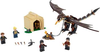 Конструктор Lego Harry Potter TM 75946 Турнир трёх волшебников: венгерская хвосторога printio венгерская выжла