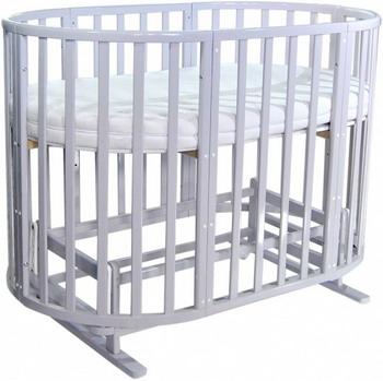 Детская кроватка Everflo Allure 7 в 1 с маятником gray ES-008 ПП100004166