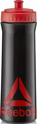 Бутылка спортивная Reebok 750 ml (черн-красн) RABT-11005BKRD бутылка спортивная sport victory nutrition цвет белый черный прозрачный 750 мл