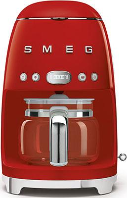 Кофеварка Smeg DCF02RDEU красный chlxl красный цвет 12