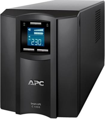 Источник бесперебойного питания APC Smart-UPS C SMC1000I 600Вт 1000ВА черный источник бесперебойного питания apc smart ups srt 1500va rm 230v 1500va черный srt1500rmxli