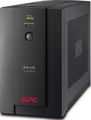 цена на Источник бесперебойного питания APC Back-UPS BX1400UI 700Вт 1400ВА черный