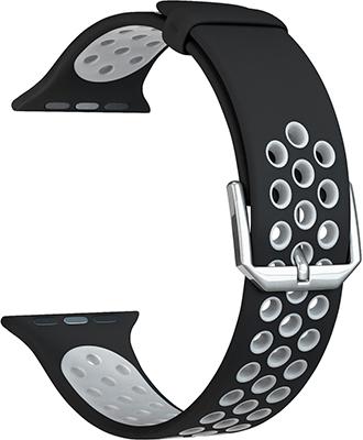 Ремешок для часов Lyambda для Apple Watch 42/44 mm ALIOTH DS-APS01-21-44-BGY Black/Grey цены онлайн