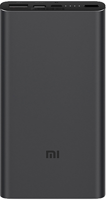 Внешний аккумулятор Xiaomi Mi Power Bank 3 PLM12ZM Black 10000mAh (VXN4253CN) цена и фото