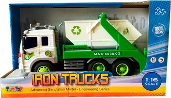 Машинка Fun Toy Грузовик инерционный электромеханический 44404/14