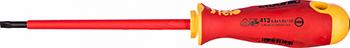 Диэлектрическая отвертка Felo Ergonic плоская шлицевая 5 5X1 0X125 41305590 отвертка felo ergonic плоская шлицевая 5 5x1 0x150 40055510