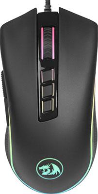 Мышь игровая Redragon Cobra fps RGB 9кнопок 24000dpiоптическая (78284) мышь redragon cobra fps 78284