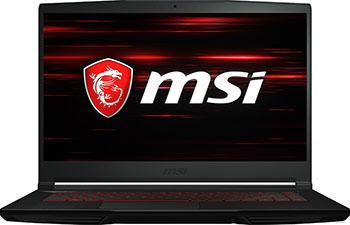Ноутбук MSI GF63 9RCX-697XRU (9S7-16R312-697) Черный