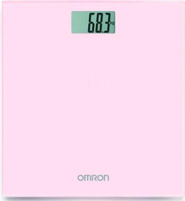 Весы напольные OMRON персональные цифровые HN-289 (HN-289-EPK) розовые