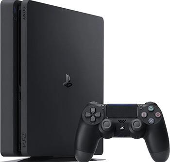 Стационарная приставка Sony PlayStation 4 1TB Black + Days Gone/God Of War/The Last of Us/PS+3M (CUH-2208B)