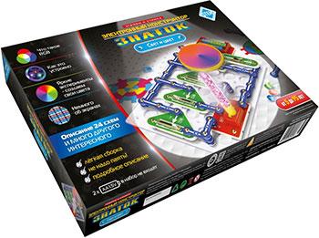 Электронный конструктор Знаток ''Свет и цвет'' ZP-70799 электронный конструктор electronic blocks радио свет нло yj 188170438 1csc 20003432