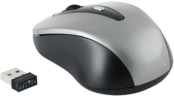 Мышь Oklick 435MW серый/черный оптическая (1600dpi) беспроводная USB (3but)