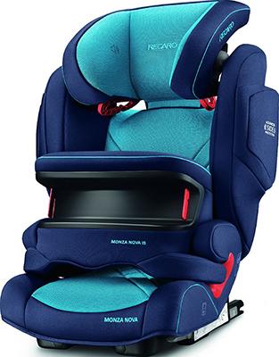 Автокресло Recaro Monza Nova IS гр. 1/2/3 расцветка Xenon Blue nova tunes 3 1