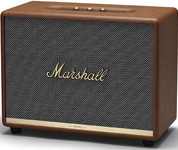 Фото - Портативная акустика Marshall Acton II Brown беспроводная hi fi акустика marshall woburn ii brown