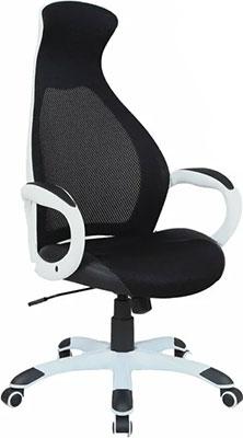 Кресло Brabix PREMIUM ''Genesis EX-517'' пластик белый ткань/экокожа/сетка черная 531573